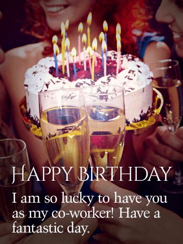 fantastic day happy birthday card   worker