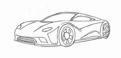 Cars Drawings Mclaren Result Pencil Supercars