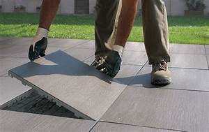 carrelage flottant With carrelage exterieur a clipser
