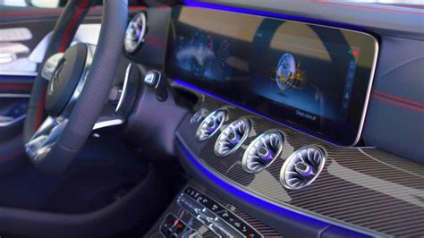 mercedes amg cls  matic interior trailer youtube