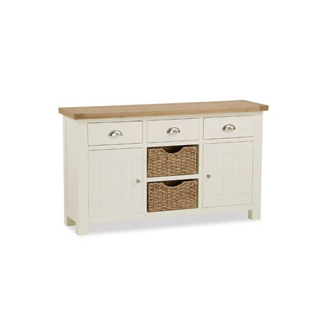 Sideboards With Baskets by Finsbury Large Sideboard With Baskets Glentree