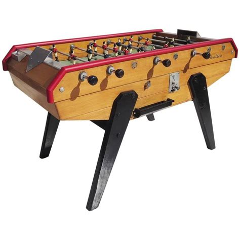 french mid century foosball table  rene pierre  stdibs
