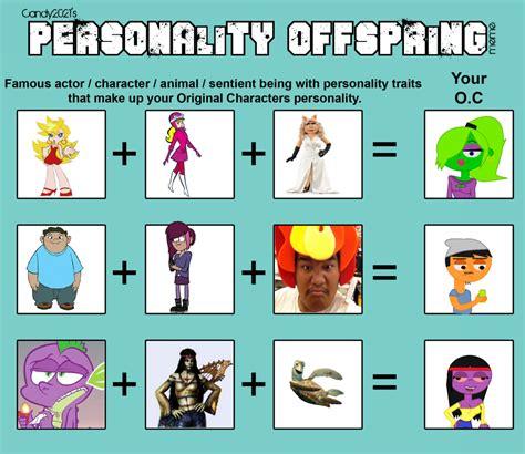 Personality Meme - personality offspring meme by takoyamafan23 on deviantart