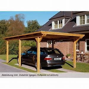 Carport Aus Holz : skan holz flachdach carport skanholz ~ Whattoseeinmadrid.com Haus und Dekorationen