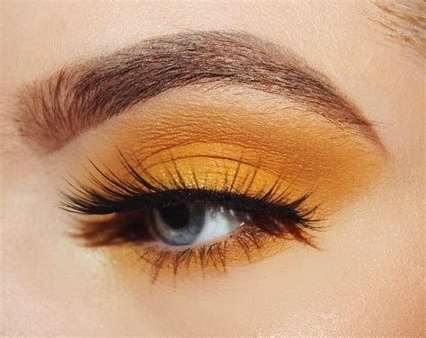yellow eyeshadow  perfect yellow honey eye shadow