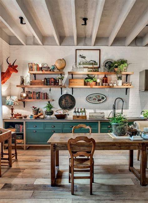 farmhouse kitchen design ideas  bohemian vibes