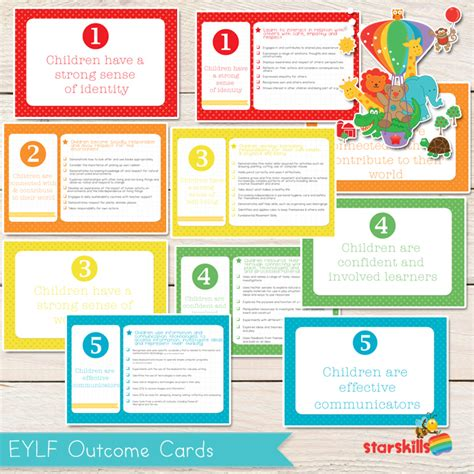 printables amp templates eylf resources 193 | EYLF Outcome Cards12