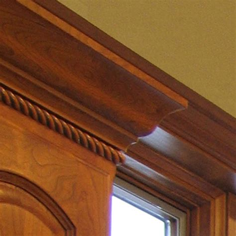 traditional oak crown molding  thick