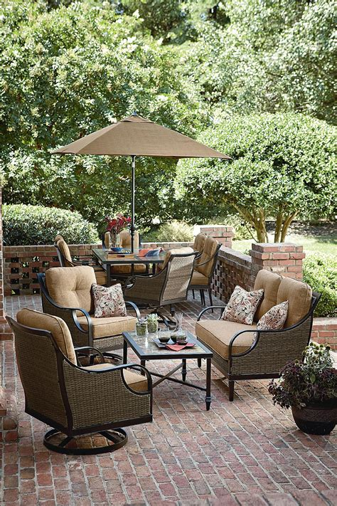 la z boy 4 seating set outdoor living
