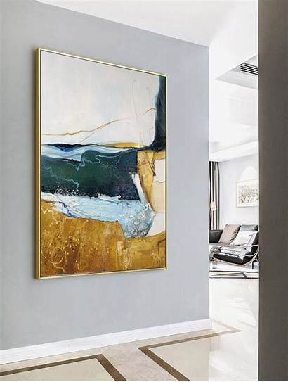 Painting Abstract Minimalist Beige Canvas Paintings Sservices
