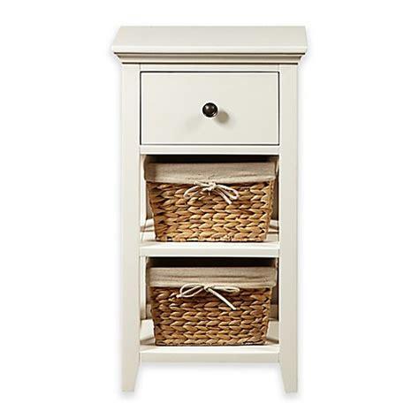 pulaski basket bathroom storage cabinet  linen white bed bath