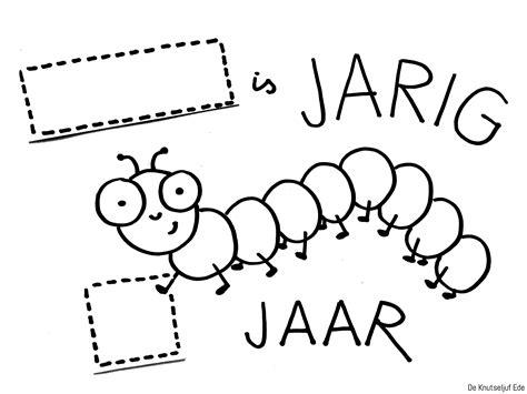 Kleurplaat Jarige by Kleurplaat Jarige Tante Kleurplaten Tekeningen