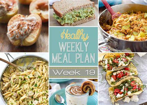 saturday dinner ideas healthy weekly meal plan 19 yummy healthy easy