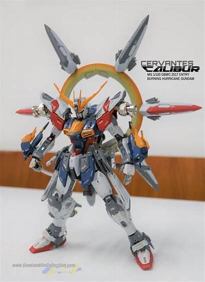 Gundam Build Burning Kits Mg Hurricane Gbwc