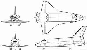 Easy to Draw Space Shuttle (page 4) - Pics about space