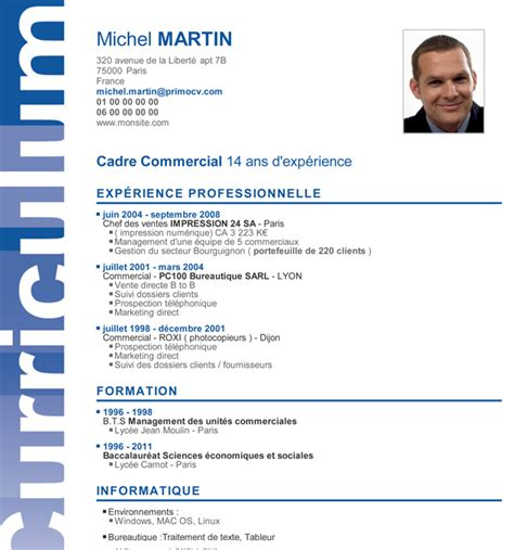 Modèle Mise En Page Cv by Exemple De Cv Mise En Page Model De Cv Word Simple Degisco
