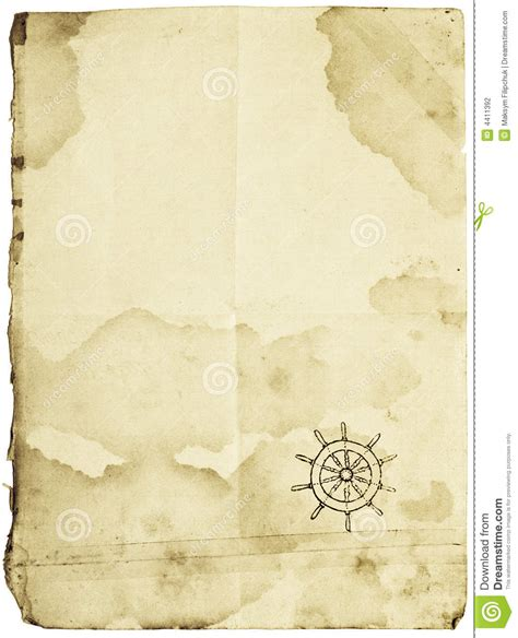 treasure map isolated  white stock photography image