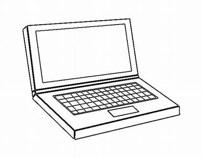 Computer Coloring Pages Sheets Drawing Printable Clipart