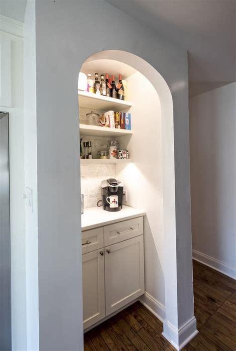 Kitchen with Coffee Station Nook   Cottage   Kitchen