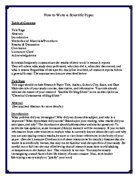 scientific paper template science research paper format drugerreport732 web fc2