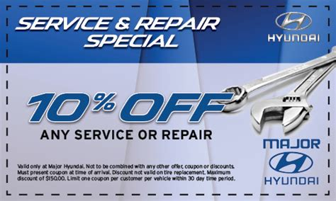 Hyundai Coupon by Pa Hyundai Service Special Pennsylvania Car Dealer