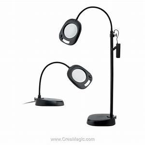 Lampe Sur Pied Led : lampe loupe led sur pied ou table en1091 de daylight ~ Teatrodelosmanantiales.com Idées de Décoration