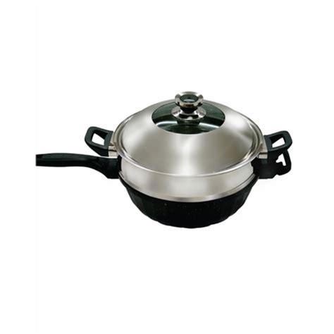 panci steamer jual panci steam signora nano wok 32cm murah harga
