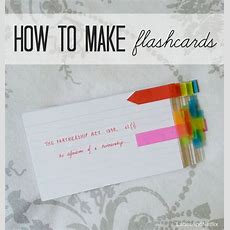 Drinks Tea Everyday;; How To Make Flashcards  Organize Your Life  Study Tips, Study, Study Skills
