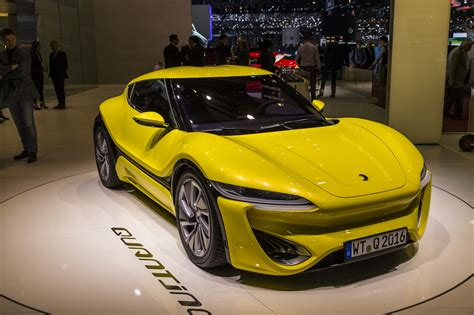 Car Image by Nanoflowcell Quant 48volt 300km H Electric Sports Car