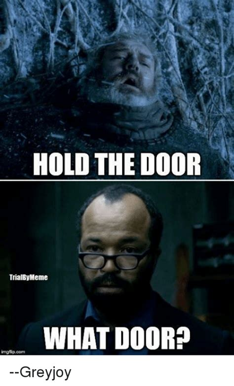 Door Meme - funny hold the door memes of 2017 on sizzle
