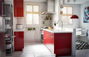 Ikea Küche Inspiration : ikea sterreich inspiration k che rot modern oberschrank faktum griff tyda mischbatterie ~ Watch28wear.com Haus und Dekorationen