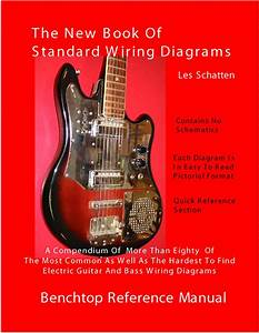 Schatten Book Of Standard Wiring Diagrams For Guitar  Bass Pickups  Les Schatten