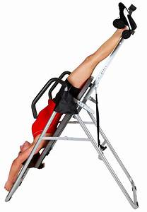 Letting Gravity Work: Back Inversion Table Gains