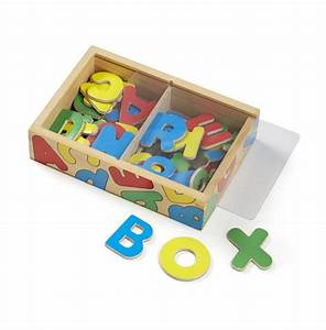 wooden letter alphabet magnets melissa doug With melissa and doug wooden magnetic letters and numbers