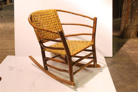 1940s american hickory co rocking chair for sale at