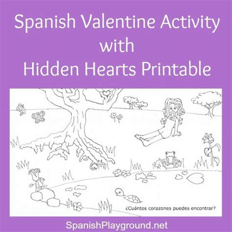 spanish animales and valentines day activities on pinterest