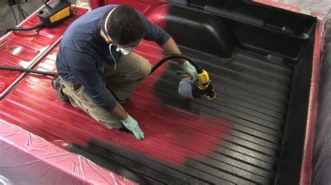 motocoat truck bed liner sprayer youtube