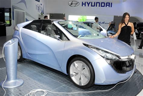 Electric Cars Usa by Hyundai Electric Car To Be Unveiled In The Usa