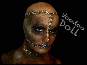 Halloween Make Up Puppe : stitched up voodoo doll halloween makeup tutorial youtube ~ Frokenaadalensverden.com Haus und Dekorationen