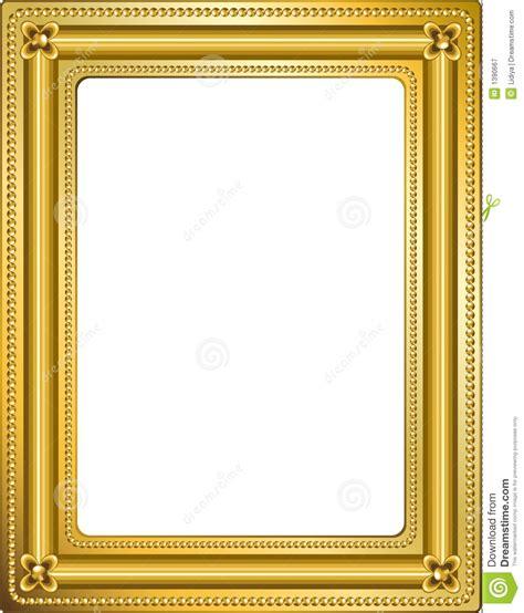frame gold  stock illustration illustration  color