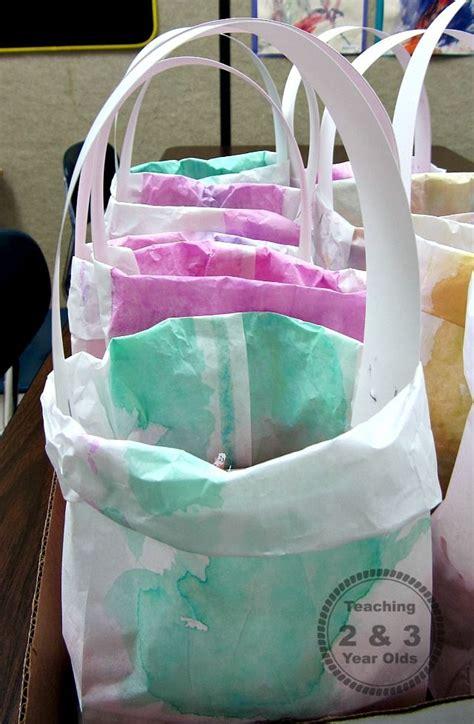 easy homemade easter bags  kids bags preschool