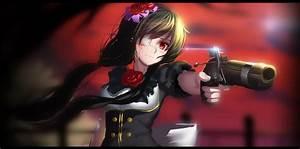 Anime, Girls, Artwork, Eye, Patch, Tokisaki, Kurumi, Date, A, Live, Gun, Wallpapers, Hd, Desktop, And