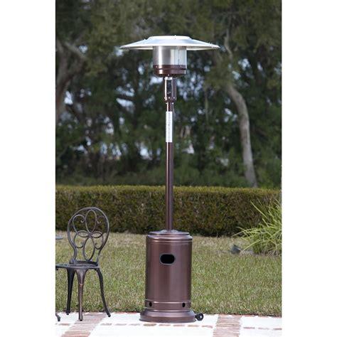 sense hammer tone bronze commercial patio heater