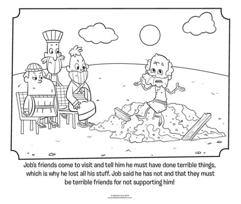 jobs friends visit bible coloring pages whats