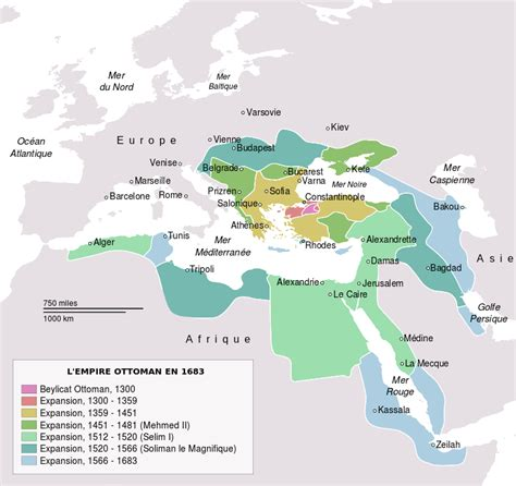 Les Ottomans Histoire l empire ottoman histoire des balkans