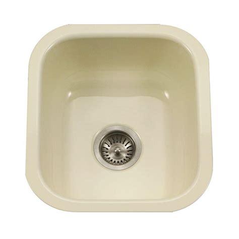 porcelain undermount kitchen sink houzer porcela series undermount porcelain enamel steel 31