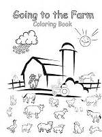 farm animals coloring pages  printable activities
