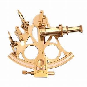 Antique Brass Navigation Sextant   U092a U0940 U0924 U0932  U0915 U093e  U0938 U0947 U0915 U094d U0938 U094d U091f U0947 U0902 U091f
