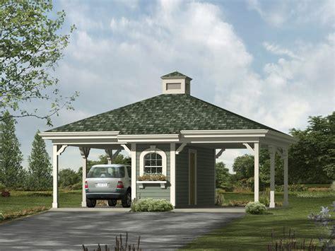 Gloria 2car Carport Plan 009d6016  House Plans And More