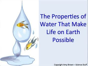 17 best images about unique properties of water on